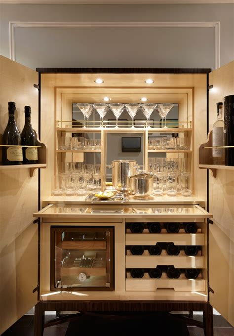 home bar cabinet designs private residence south kensington london fiona