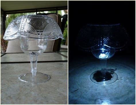 Solar Mushroom L Table Version And Outdoor Version Dollar Store Solar Lights
