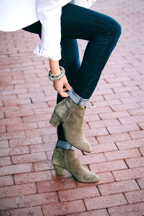 cuffed ankle boots style