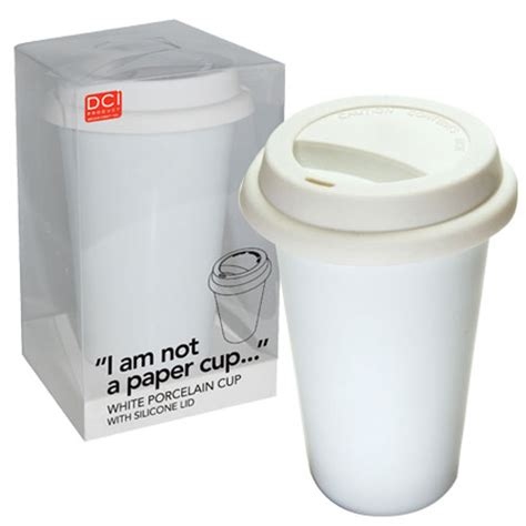 A Paper Cup - i am not a paper cup eco friendly reusable ceramic