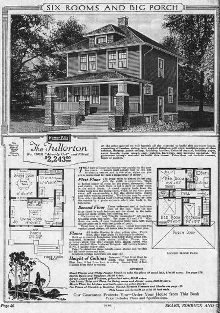 Sears Catalog Homes Floor Plans Sears Catalog House Plans 171 Floor Plans