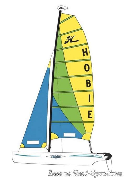 catamaran sailboat dimensions hobie cat getaway sailboat specifications and details on