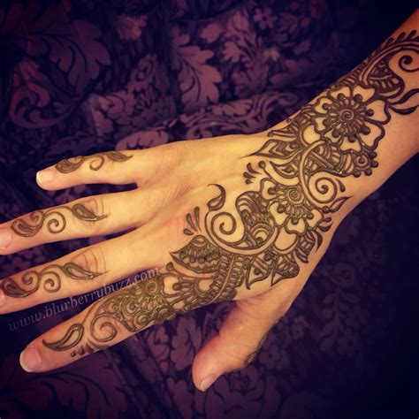 indo floral henna by welch blurberrybuzz