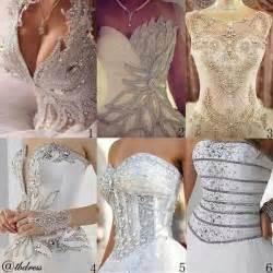 bling corset wedding dresses