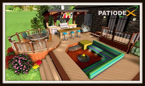 Model De Patio Exterieur