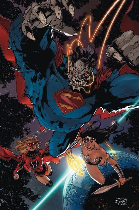 The Vires Minotaur doomsday superman lantern supergirl by
