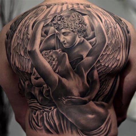 tattoo back angel 43 heavenly angel tattoo designs tattooblend
