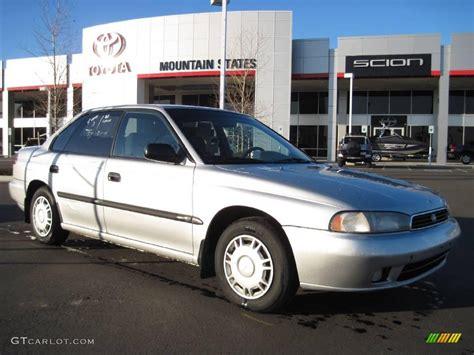 1995 Subaru Legacy Sedan by 1995 Silver Metallic Subaru Legacy L Sedan 25415018