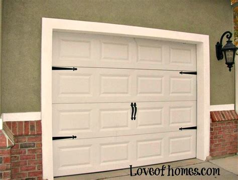 Garage Door Decorative Kits Fancy Up Some Garage Doors By Adding Hardware To Them Quot Decorative Garage Door Harware Kit