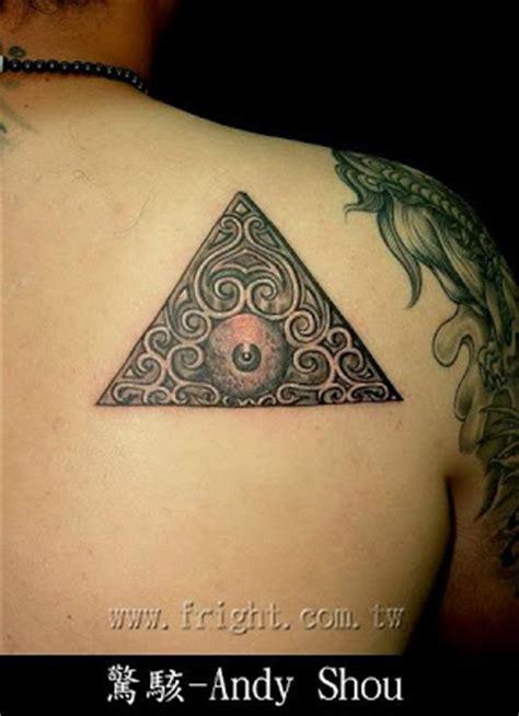 tattoo meanings eye triangle free tattoo designs triangle and eye abtract tattoo design