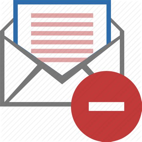 Search By Email Block Block Email Envelope Mail Message Spam Stop Icon Icon Search Engine