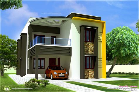 80 yard home design 1900 sq feet modern contemporary villa kerala home