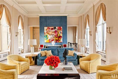 Manhattan Living Room by Steve Wynn S New York Apartment Photos Architectural Digest