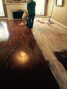 A Recent Hardwood Floor Refinish Client in Fort Worth