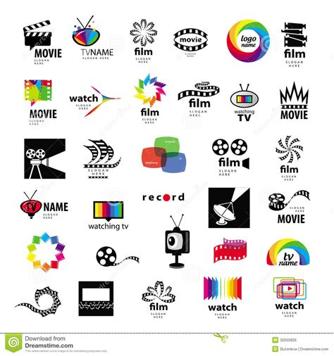 symbole cadenas iphone 6 logos tv video photo film stock vector illustration