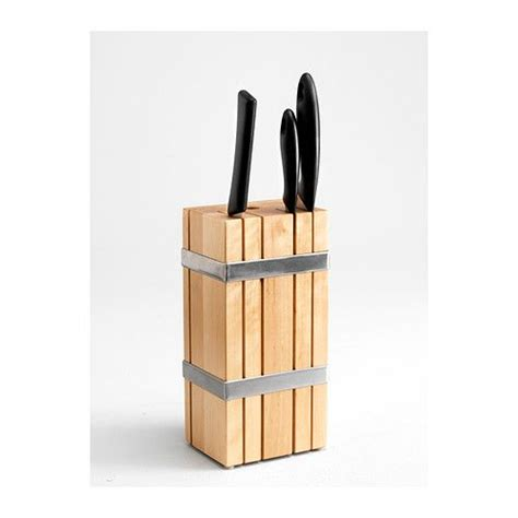 ikea kitchen knives ikea kitchen knife block holder rack box wood new
