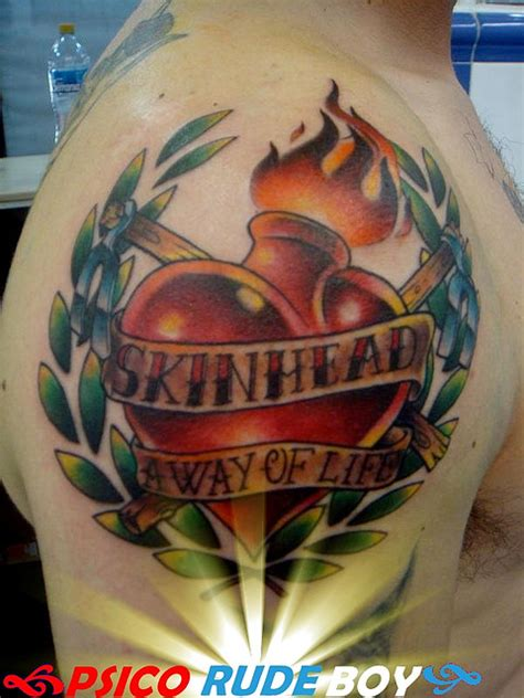 racist tattoo designs skinheads tattoos pictures to pin on tattooskid