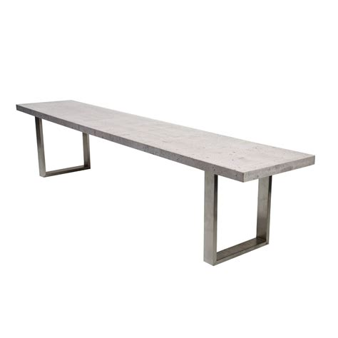 bench products online bench in concrete look suitable for design dining table