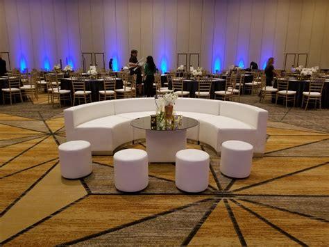 white lounge furniture dpc event services