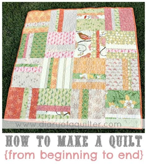 Easy Baby Quilt Tutorial by Quilting Made Simple Free Baby Quilt Tutorial