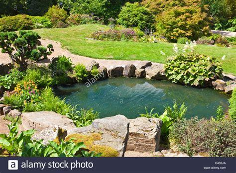 Rock Garden Pond Rock Garden Across Pond Rock Garden Across Pond Rokko Alp Flickr Chsbahrain