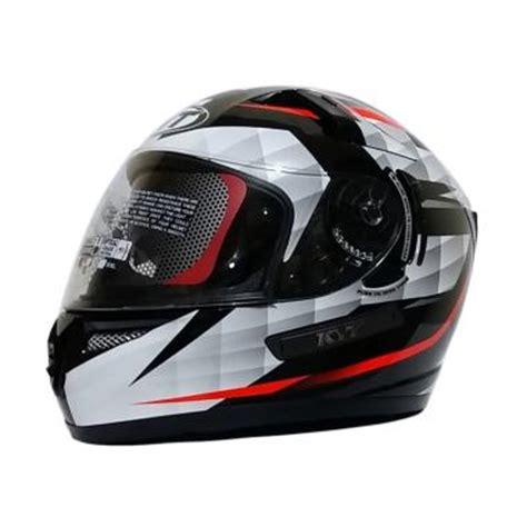 Kyt K2 Rider Black White jual iims kyt k2 rider helm white black harga kualitas terjamin