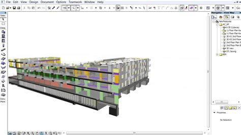 section archicad archicad 17 new features creating a 3d cutaway in the