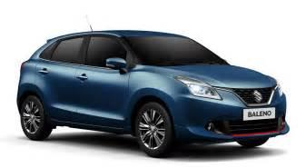 Suzuki Baleno Suzuki Baleno Web S Edition Launched In Italian Market