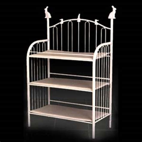 iron changing table bunny curved iron changing table by corsican iron furniture
