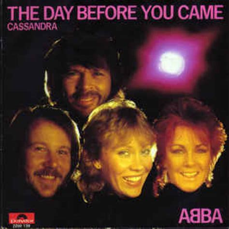Before The Day abba the day before you came vinyl at discogs