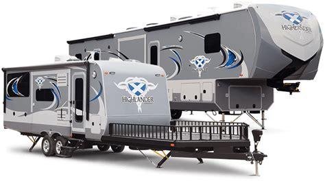 Fifth Wheel Trailer Floor Plans by 2016 Highlander Travel Trailers Ht27sbg By Highland Ridge Rv