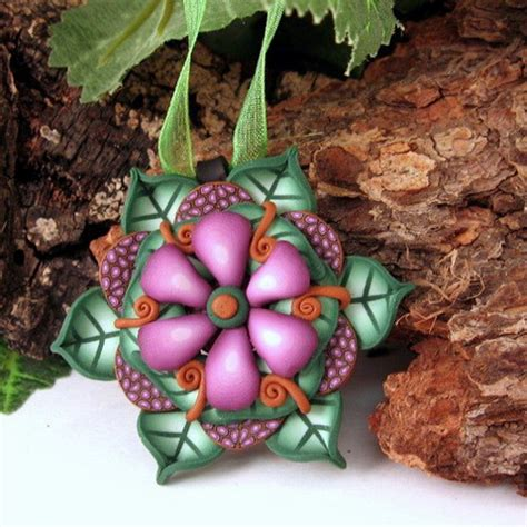 Unique Handmade Ornaments - unique handmade polymer clay ornaments family