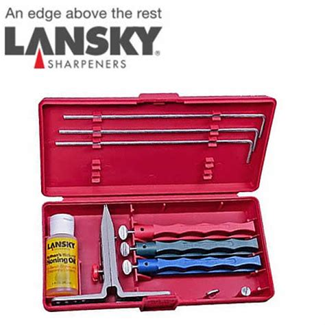 lansky sharpening system barringtons swords lansky sharpeners standard sharpening