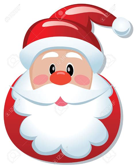 imagenes de santa claus en botella father christmas face clipart 67