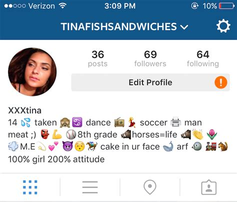 bio for instagram generator finstas 101
