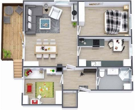 Floor Plans Under 1000 Square Feet Two Bedroom Small House Plans Under 1000 Sq Ft 3d Designs