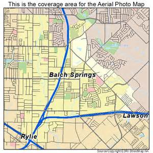 Sprint Tx Aerial Photography Map Of Balch Springs Tx