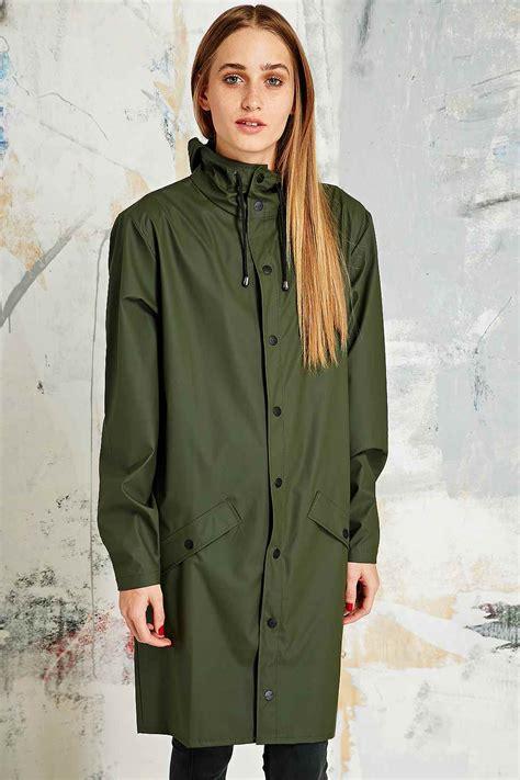 Rains Waterproof Jacket rains waterproof jacket in khaki in for