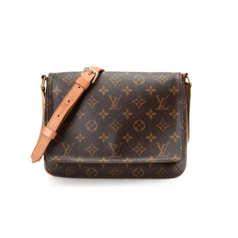 Lv Louis Vuitton Musette Messenger Bag Branded Authentic Preloved louis vuitton musette crossbody bag grey shoulder bag