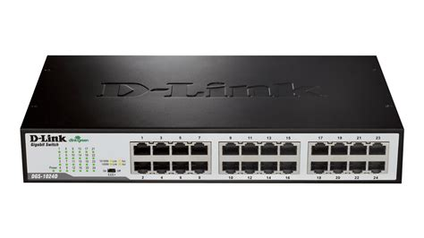 Switch Gigabit 24 Port 24 port gigabit unmanaged desktop rackmount switch dgs 1024d d link canada