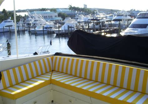 boat upholstery miami upholstery enclosures boat covers bimini tops fort