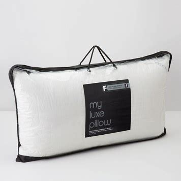 My Luxe Pillow - bloomingdale s my luxe medium firm king pillow