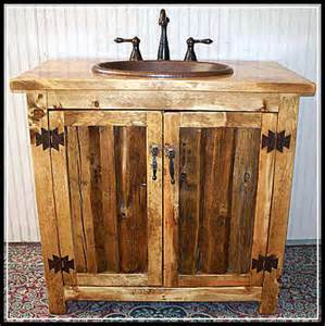 let s decorate rustic bathroom vanity beautifully home