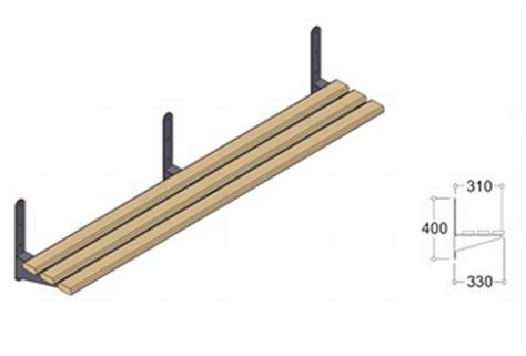 cantilever bench brackets product information for perimeter benching with cantilever