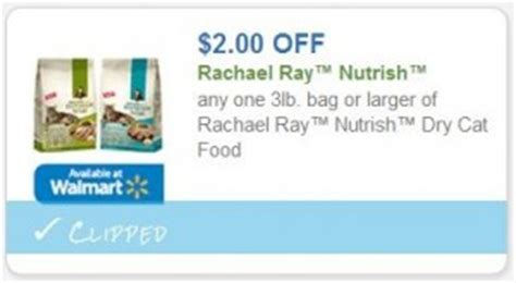 printable rachael ray dog food coupons new 2 00 rachael ray nutrish cat food coupon