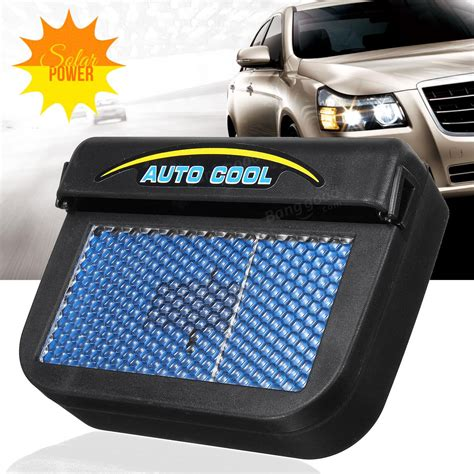 Solar Powered Car Air Ventilation System Sistem Venti Murah solar power car window auto air vent cool fan cooler ventilation system radiator sale banggood