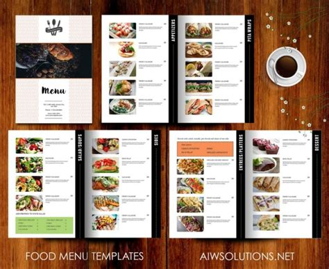 print ready drink menu template psd ai indesign eps word