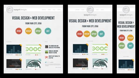 responsive design templates 25 interesting responsive web design exles the design