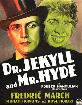 themes found in dr jekyll and mr hyde dr jekyll and mr hyde 1931 journeys in classic film