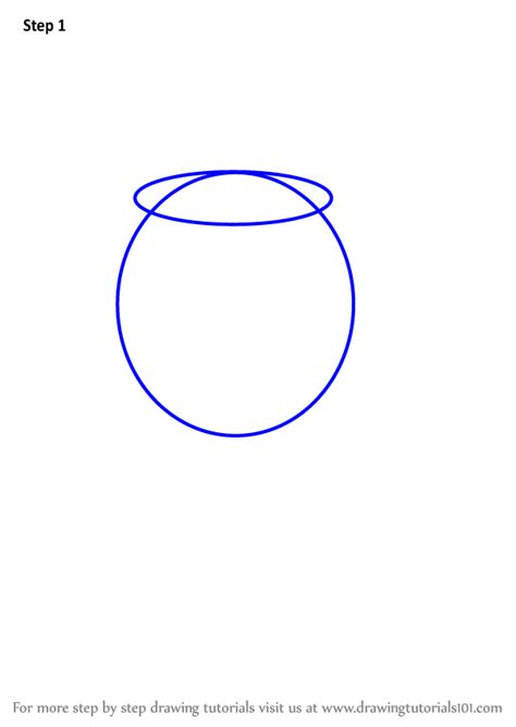How To Draw Glass Step By Step